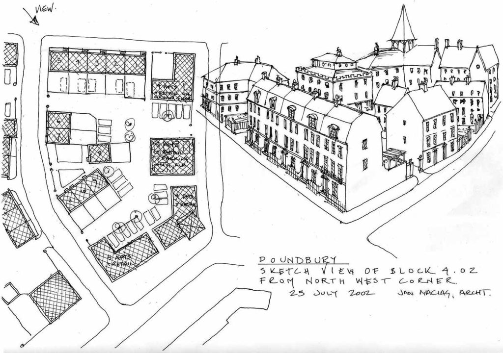 Block 4.02 Poundbury, Dorchester - Folium Architects