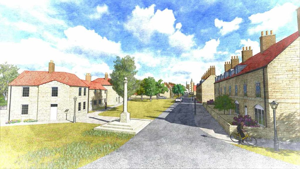 Urban extension: High Malton, Malton