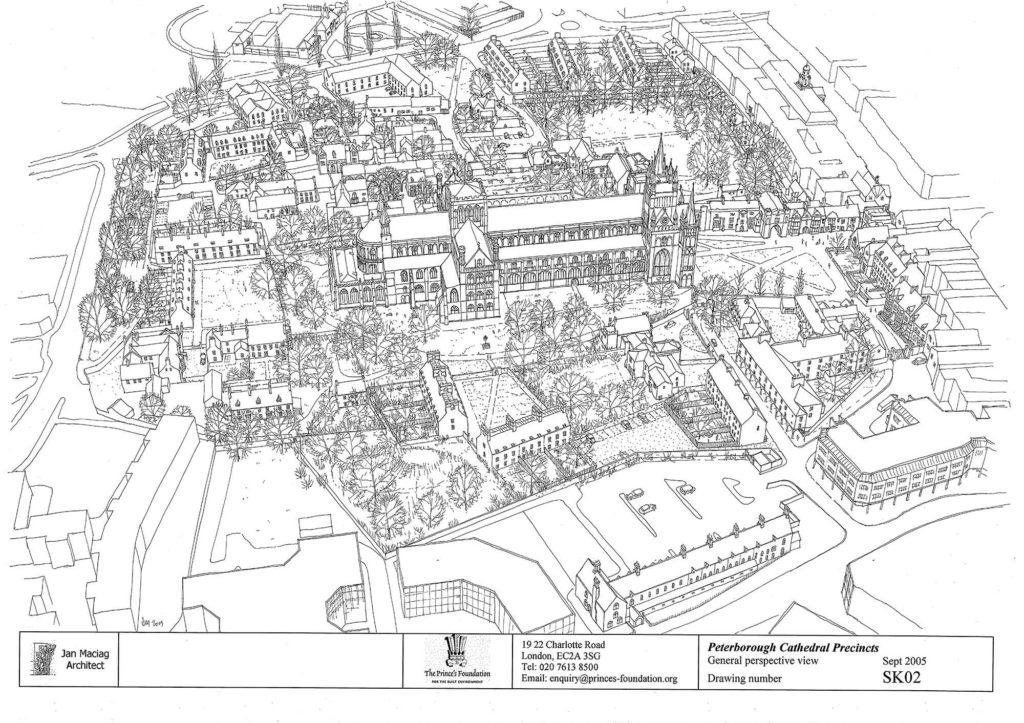 Peterborough Cathedral Precincts