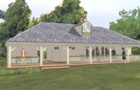 Proposal for Wentworth Cricket Pavilion